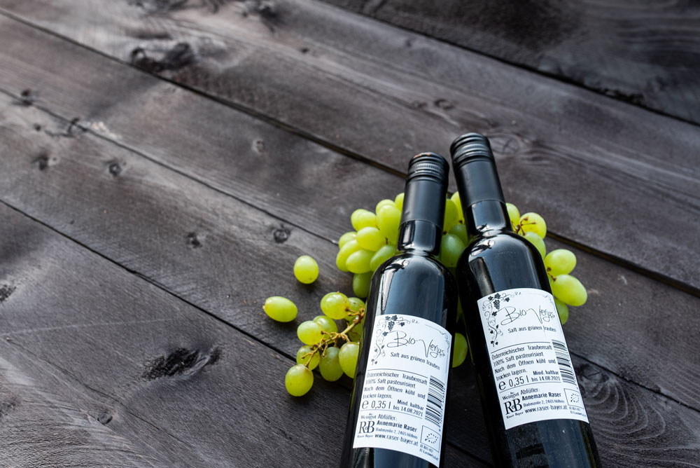 Bio Weinbau Raser-Bayer - Bio Verjus